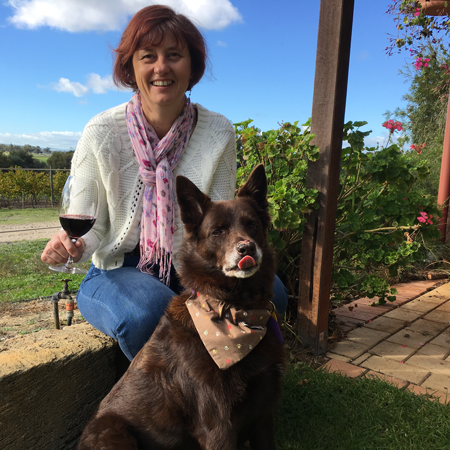 Owner of Vineyuard 28, Pippa is a keen patchworker and quilter.