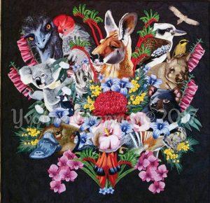Australia's Bouquet Quilt