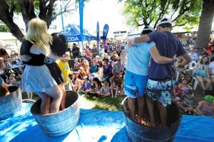 Grapestomping at Harvest Festival