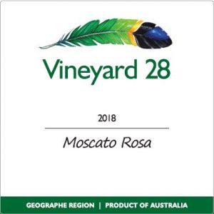 Moscato Rosa Label