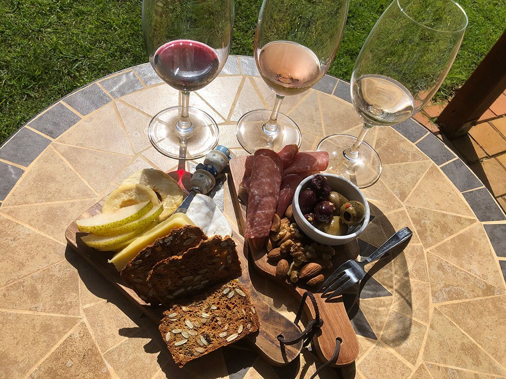 Grazing Plate at Vineyard 28